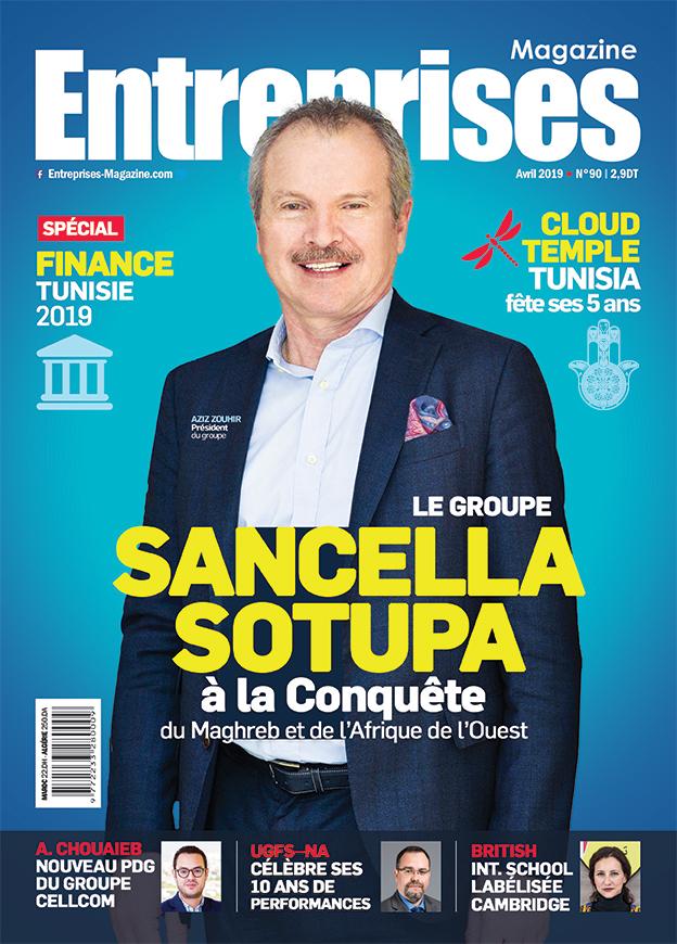 Couverture Avril - Entreprises Magazine