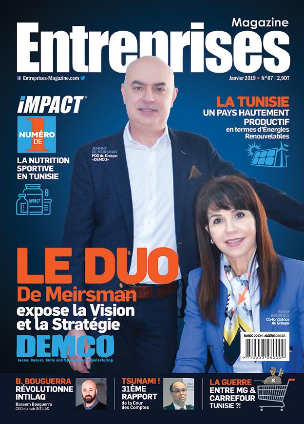 Entreprises Magazine Couverture Janvier 2019