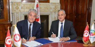 une nouvelle convention triennale de partenariat entre Tunisie Telecom et l'ONAT