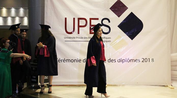 Cérémonie de remise des diplômes de l'UPES