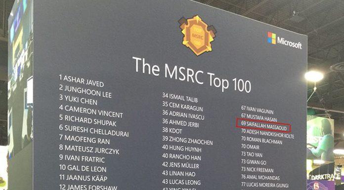 Microsoft : un tunisien au classement des cent pirates
