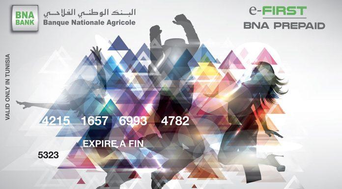 Carte e-first BNA