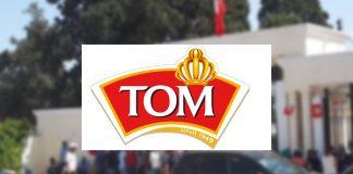 Les grévistes des usines TOM