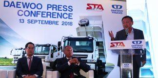 Partenariat entre la STA et Daewoo Trucks