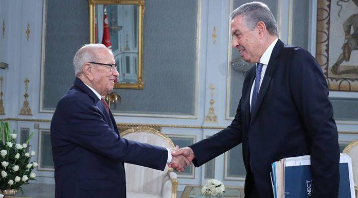 Tarak Cherif avec Béji Caïd Essebsi