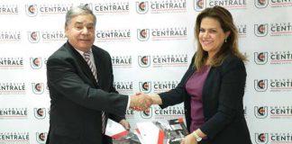 Convention-Université Centrale et Cercle Diplomatique