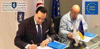 European Economic Chamber-Bruxelles et l'Université Européenne de Tunis