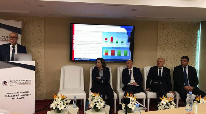 Marouane Abassi formation en diplomatie économique et lobbying
