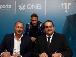 Neymar Jr ambassadeur du Groupe QNB