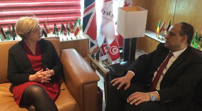 Louise De Sousa et Mohamed Lassâad Labidi