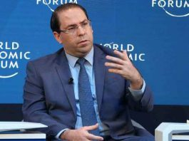 Youssef Chahed à Davos