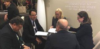 Zied Ladhari à Davos