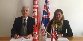 Mehdi Ben Abdallah (TBCC) et Leila Ben Hassen (ABEF)