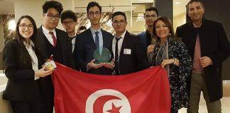Les lauréats des lycées pilotes de l'Ariana et d'El Menzah 8-New York