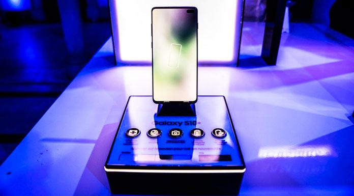 Lancement du Samsung Galaxy S10