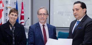 Partenariat entre l'Institut des Etudes Politiques de Tunis et l'École Nationale de Gestion du Canada