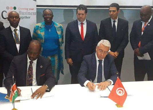 forum économique Tuniso-Kenyan