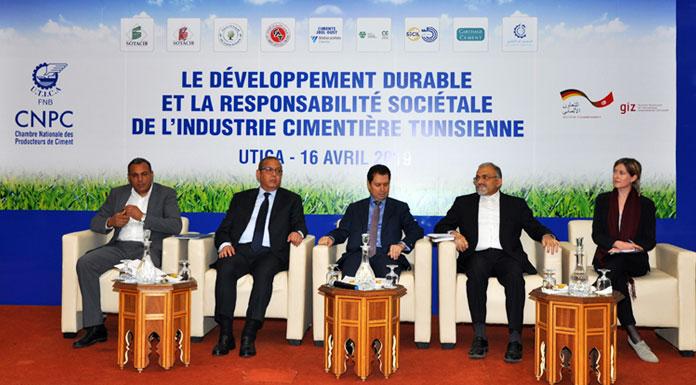 Contribution de l'industrie cimentière tunisienne au développement durable