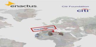 Enactus Tunisie et La Fondation Citi programme Impact@Work