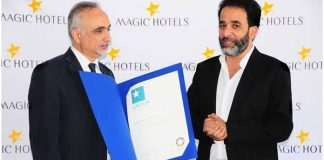 Magic Hotels & Resorts prix du « Meilleur Groupe »