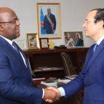Walid Loukil reçu par le président de la RD Congo