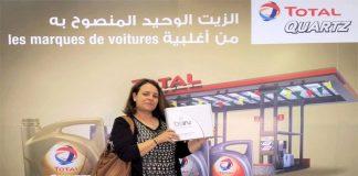 gagnante campagne Total Quartz