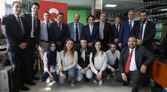 visite du PDG de Canon Europe au Maroc