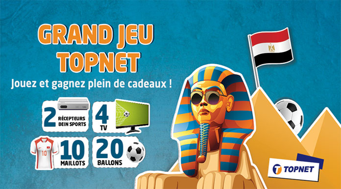 Jeu TOPNET spécial Egypte 2019