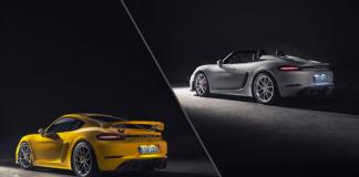 Porsche 718 Spyder et 718 Cayman GT4