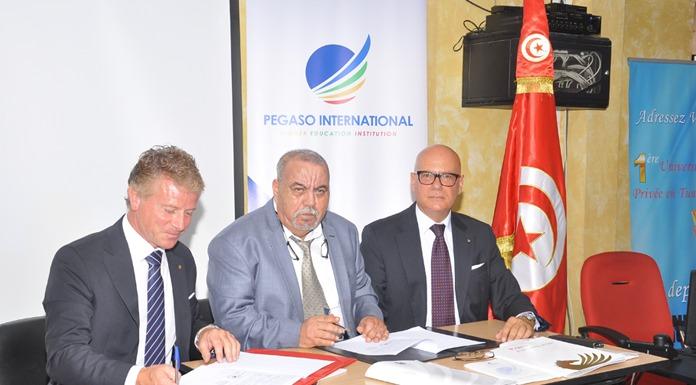 convention entre Groupe Université Montplaisir et PEGASO International University