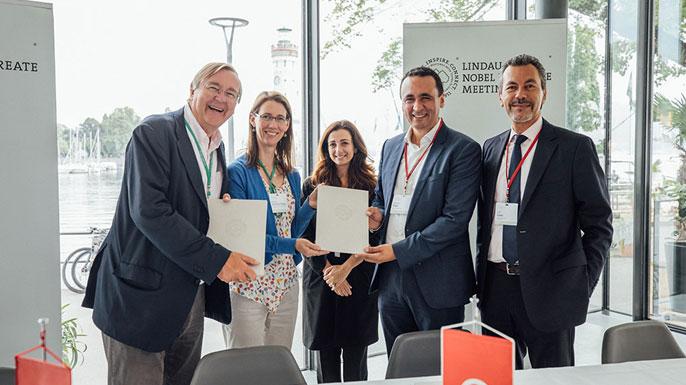 Honoris United Universities partenariat les Rencontres des Lauréats du Prix Nobel de Lindau