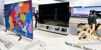LG téléviseur 8K OLED