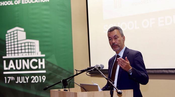Luis Lopez PDG d'Honoris United Universities