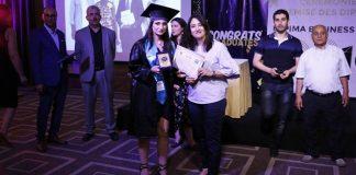 remise des diplômes de l'Université Espima Business School