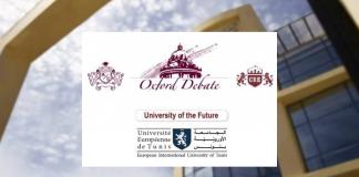 Oxford Debate l'université Européenne de Tunis