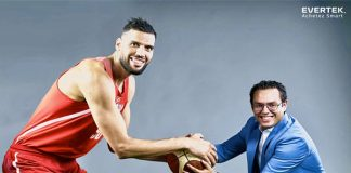 Salah Mejri nouvel ambassadeur de la marque Evertek