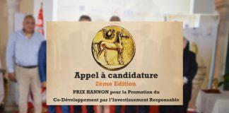 2ème Edition du PRIX HANNON