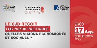Evénement CJDpartis politiques législatives