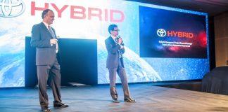 Lancement de la gamme hybride Toyota