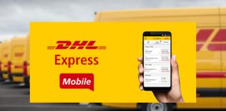 application mobile DHL Express