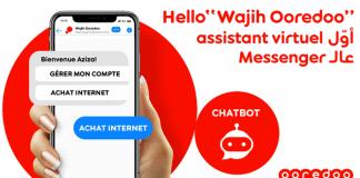 Chatbot Wajih Ooredoo