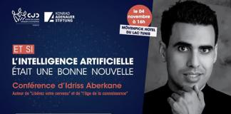 Idriss ABERKANE conférence intelligence artificielle