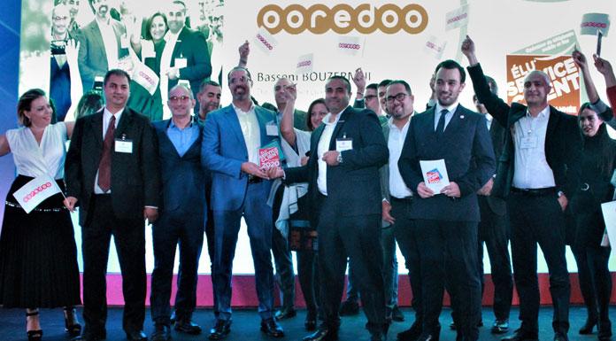 Ooredoo Tunisie prix Elu Service Client de l'année 2020