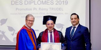 Promotion du Ministre Trudel Sciences Po Tunis