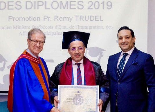 Promotion du Ministre Trudel Sciences Po Tunis