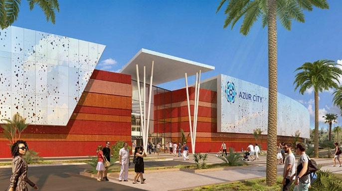 Inauguration du centre commercial Azur City