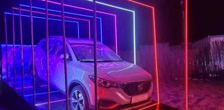 Voiture électrique MG Motors