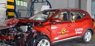 MG HS et ZS EV EuroNCAP