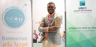Paul Nyobe Lipot prix de l'entrepreneur.e social.e de l'UBCI