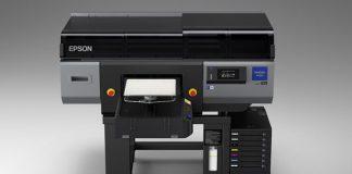 Epson lancement imprimante textile